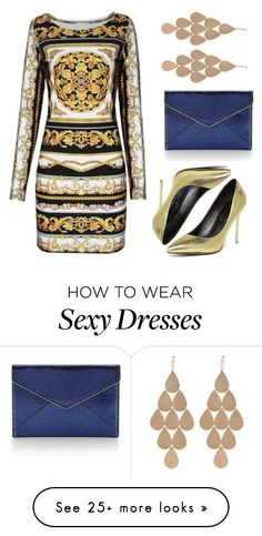 """""""Wholesale7/ Nightclub wear"""" by lee77 on Polyvore featuring Eurø Style, Irene Neuwirth, Rebecca Minkoff, dress and wholesale7"""