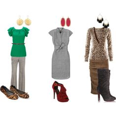 """winter work clothes"" i dnt know about those last 2 but 1st is cute!!"
