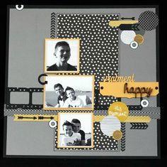 Aurélie Scrapbooking Diy, Album Photo Scrapbooking, Scrapbook Sketches, Scrapbook Albums, Scrapbook Cards, Envelopes, Multi Photo, Candy Cards, Creative Memories