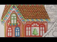 JOHANNA'S CHRISTMAS - prismacolor pencils - color tutorial part 2 - YouTube