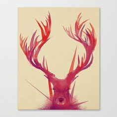 Points Stretched Canvas by Jay Fleck - $85.00