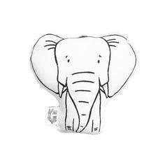 Emma la almohada de peluche de elefante por por TheWildKidsApparel