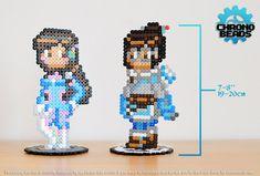 Overwatch - D.Va - Mei - Diva - Dva - stand figure - ORIGINAL DESIGN - hama beads - perler beads