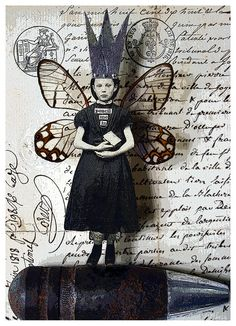 Stephanie Rubiano - Butterfly wing art