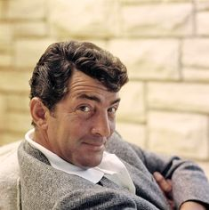 Dean Martin : you can see the twinkle in his eye...he is up to something! That is one if the things I loved about him.