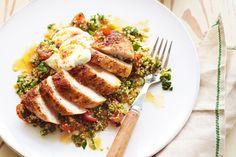 Quinoa with Paprika Chicken