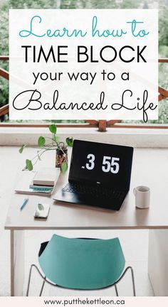 Time Blocking Your Way to a Balanced Life. Never have time? Always exhausted? Learn how time blocking your day can lead to a happy, balanced life. Here are 3 tips to help get you started! Time Management Strategies, Time Management Skills, Planners, Affirmations, Week Schedule, Organize Your Life, Work Life Balance, Working Moms, Organization Hacks
