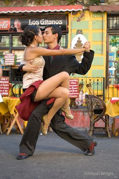 Tango Dancers, Argentina. Photograph by Alison Wright