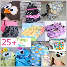 25+ Things to Sew from CrazyLittleProjects.com