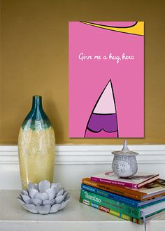 Princess Bubblegum // Adventure Time Minimalist Poster by TheGeekerie, $18.00