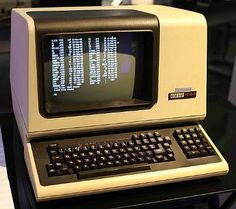 DEC VT100 computer terminal (1978) which featured the luxurious choice of an 80 or 132 column display.