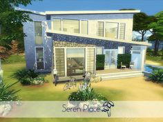 Seren Place by madabb13 at TSR via Sims 4 Updates