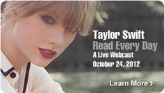 Taylor Swift Read Every Day <3