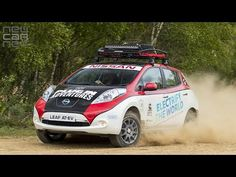 NEWCARNET - A modified Nissan LEAF is set to enter the 2017 Mongol Rally. Piloted by Electric Vehicle enthusiasts 'Plug In Adventures' the LEAF will be the f. Road Rally, Rally Car, Nissan Leaf, First Car, Car Videos, Electric Cars, Leaves, Vehicles, Racing
