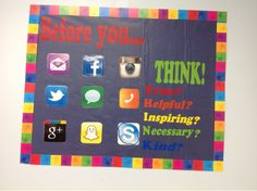 A Techy Teacher with a Cricut: Computer lab bulletin boards: digital citizenship