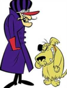 Hanna Barbera Cartoon: Wacky Races - Dastardly and Muttley