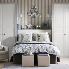 Grey and White Bedroom Furniture . 25 Lovely Grey and White Bedroom Furniture . Grey and Black Bedroom Inspirational Bedroom Furniture White Bedroom Floral Bedroom, Gray Bedroom, Master Bedroom Design, Bedroom Decor, Bedroom Ideas, Bedroom Country, Bedroom Modern, Minimalist Bedroom, Contemporary Bedroom