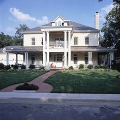 Front Porch and Wraparound Porch