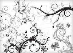 Vectores florales gratuitos | Puerto Pixel | Recursos de Diseño