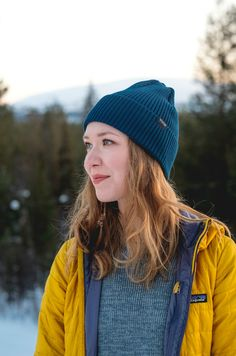 Spring beanie merino wool for Men and Women. Outdoor outfit hipster hiking look. Eco-friendly and ethical Wool beanie by VAI-KØ.