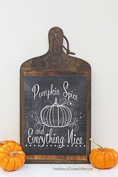 Pumpkin Spice Chalkboard Art The Diary of Daves Wife, Fall Printables via House of Hargrove Chalkboard Decor, Chalkboard Designs, Chalkboard Drawings, Chalkboard Lettering, Chalkboard Quotes, Halloween Chalkboard Art, Chalkboard Walls, Chalkboard Paper, Kitchen Chalkboard