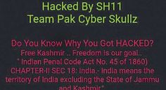 "Srinagar: The website of the National Institute of Technology (NIT) Srinagar was allegedly hacked on Monday evening by a Pakistani based hackers group. ""Free Kashmir"" messages were posted on it, a senior official of the institute said. As of Tuesday afternoon the website was not accessible...."