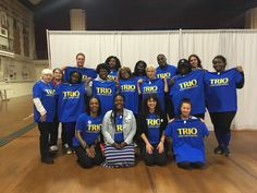 Tee Shirts for TRIO-Student Support Services, Georgian Court University #TRIOworks