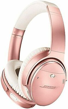 Bose Wireless, Wireless Noise Cancelling Headphones, Best Headphones, Wireless Headphones, Over Ear Headphones, Pink Headphones, Gadgets Techniques, E Reader, Fitness Armband