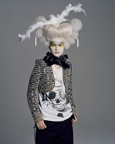 Should we do badass Maria Antonette theme for my dinner party?   Jean-Francois Carly #NMrevolution