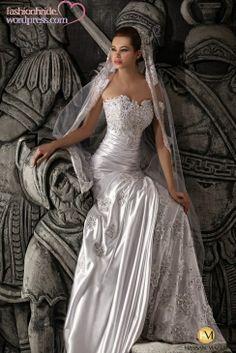 jasmine wedding dress, by hassab nazeh