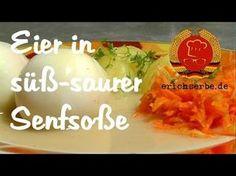 Eier in süß-saurer (Senf-)Soße - Essen in der DDR: Koch- und Backrezepte für ostdeutsche Gerichte | Erichs kulinarisches Erbe