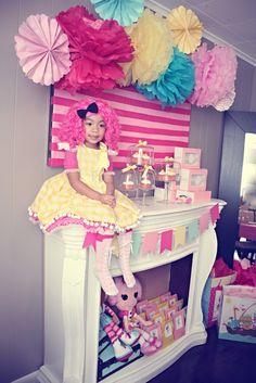 Lalaloopsy party @Sarah Garcia idea for Ellie's 4th birthday