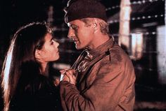 "Joanna Pacula & Rutger Hauer in ""Escape from Sobibor"""