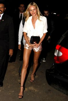 Candice Swanepoel style appearance