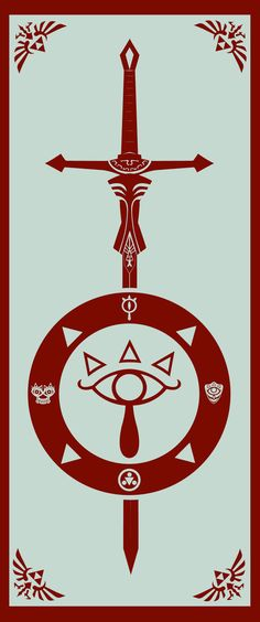 flag of Sheikah protection by Rnoise on deviantART