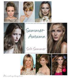 Summer-Autumn, Soft Summer color celebrities
