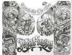 Chicano Art Flash  Dragon Tattoo Hamburg