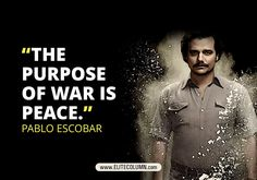 Pablo Escobar role is played by Brazilian actor Wagner Moura. Have a look at some of Pablo Escobar best quotes from Narcos - Netflix series at EliteColumn Pablo Escobar Quotes, Don Pablo Escobar, Pablo Escobar Facts, Gangster Quotes, Badass Quotes, Best Quotes, Famous Quotes, Netflix Quotes, Movie Quotes