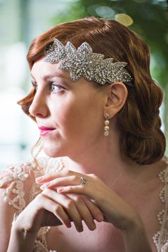 Great Gatsby Shoot- Headpiece