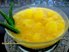 Raw papaya and mango come together for Omitar Khaar...