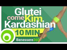 Glutei Sodi e Rotondi come Kim Kardashian - Workout di 10 Minuti per Aumentare e Tonificare i Glutei - YouTube