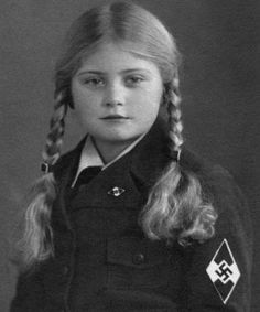 Ilse Hirsch 1933, Bund Deutscher Mädel (The League of German Girls) was a component of the Hitler Youth movement overseen by Baldur Von Schirach starting in 1926.
