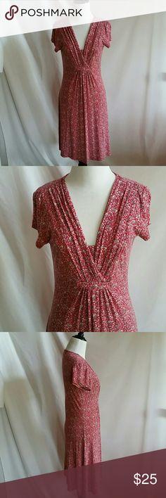 Jigsaw Size XS Midi Dress Liberty art fabrics.  Viscose,  elastane.   Hand wash. jigsaw  Dresses Midi