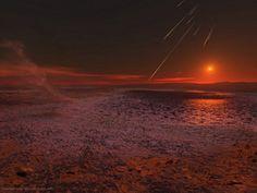 Stunning view of mars.
