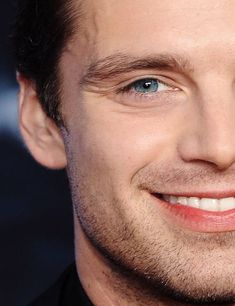 You, Mr. Stan have lovely eyes, smile, personality, laugh and face.. as well as hair