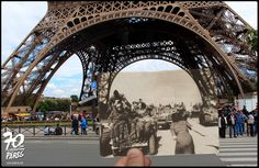 Idén ünneplik a franciák Párizs felszabadulásának hetvenedik évfordulóját. Ez alkalomból egy érdekes fotósorozatot mutatunk be, melynek különlegessége, hogy a világhírű és ismeretlen fotográfusok által fényképezett helyszíneket bejárva, Julien Knez az eredetihez hasonló…