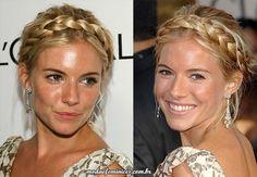 Como fazer uma trança tiara – (DIY) Faça você mesmo | Bride Crown Sienna Miller http://modaefeminices.com.br/2017/01/08/como-fazer-uma-tranca-tiara-diy-faca-voce-mesmo/