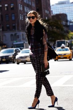 Olivia Palermo is street style perfection for this fab shoot for Vogue Spain.