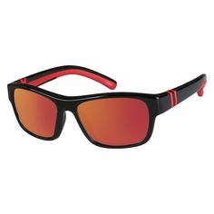 aa7ea471b3 Zenni Kids Sporty Rectangle Rx Sunglasses Black Other Plastic 129621