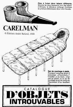 objets introuvables JacquesCarelman